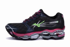 Mizuno Womens Wave Prophecy 2 Running Shoes Black
